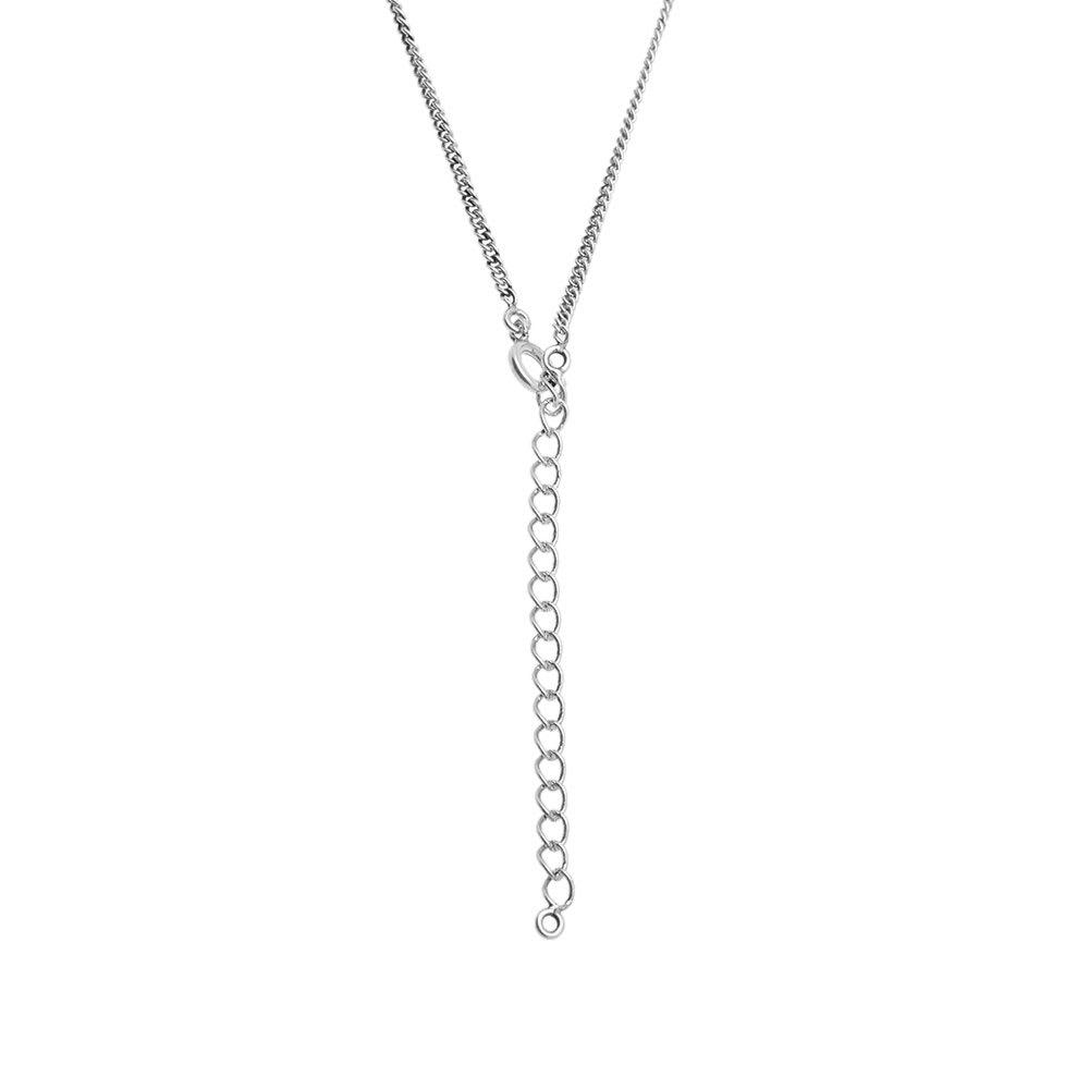 f2ded20c00 Saint Laurent YSL Plaque Pendant Necklace