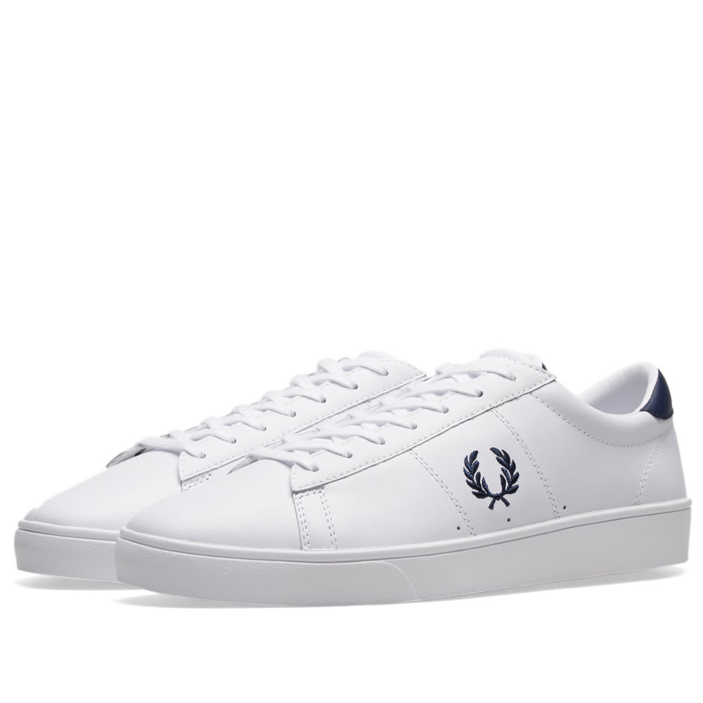 Leather Fred Perry Spencer Perry Leather Spencer Sneaker Fred OkuTPXiZ