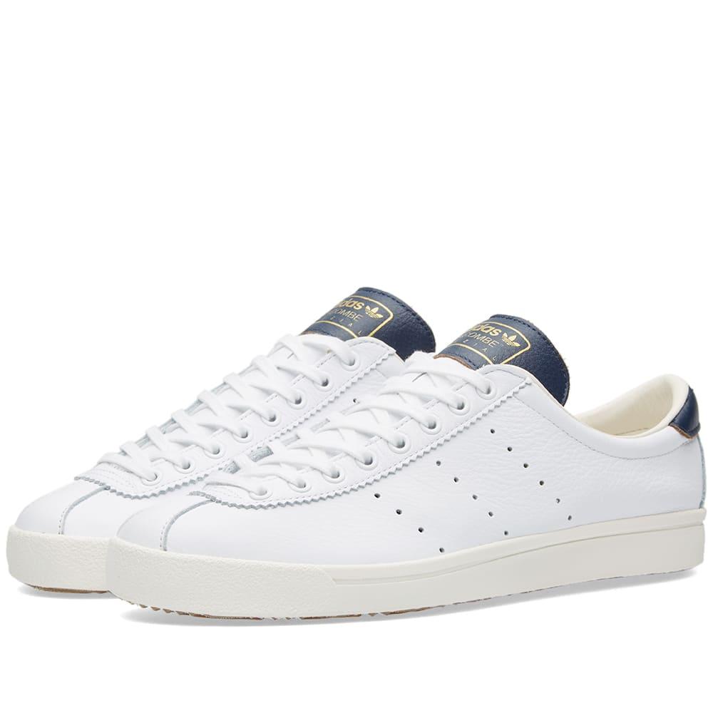 online store 4685c 39ecd Adidas SPZL Lacombe White   Collegiate Navy   END.
