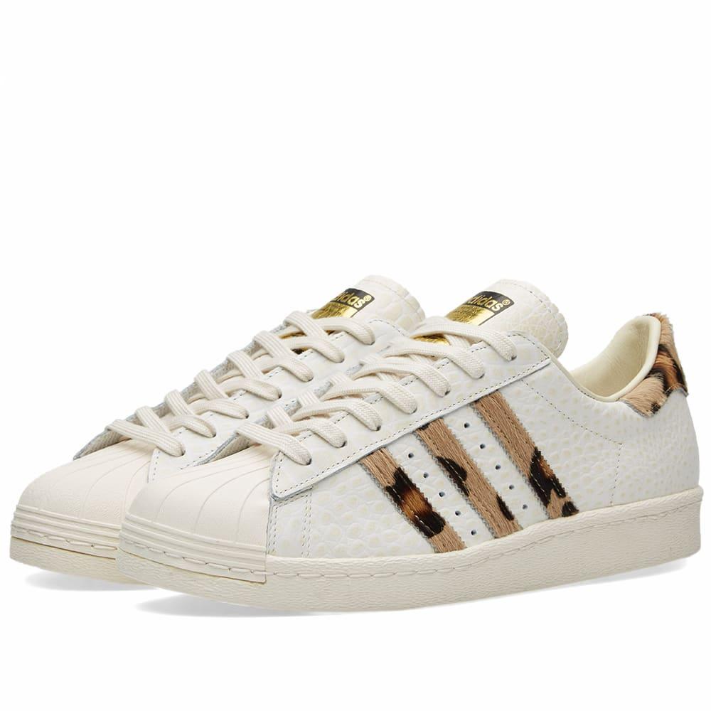 new style 185ab e0535 Adidas Superstar 80s Animal