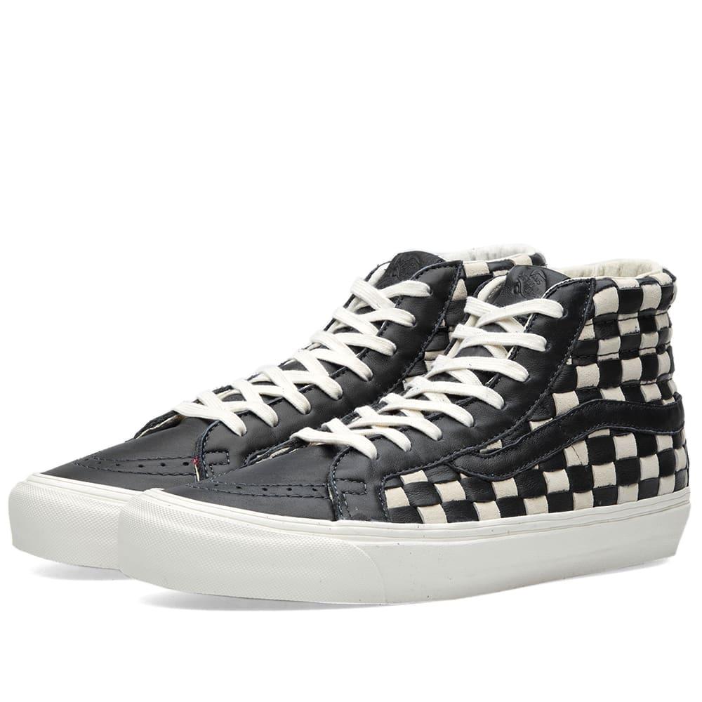 51610b392635 Vans Vault OG SK8-Hi LX 50th Checkerboard   Black