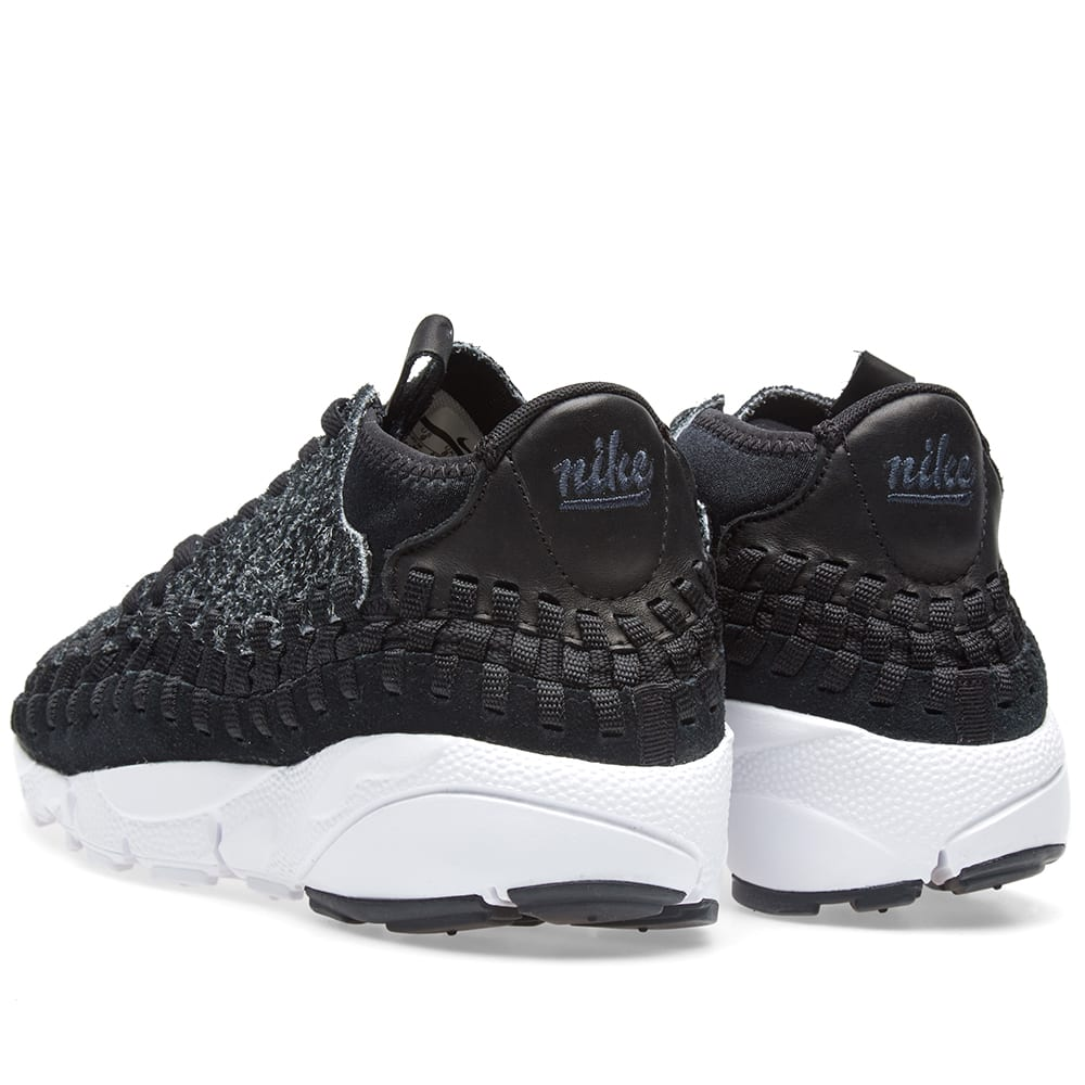 new products 99443 4f510 Nike Air Footscape Woven Chukka Anthracite, Black   White   END.