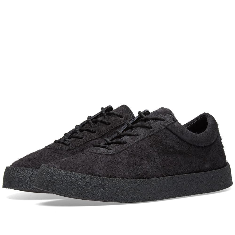 71a747f024812 Yeezy Season 6 Crepe Sneaker Black Suede