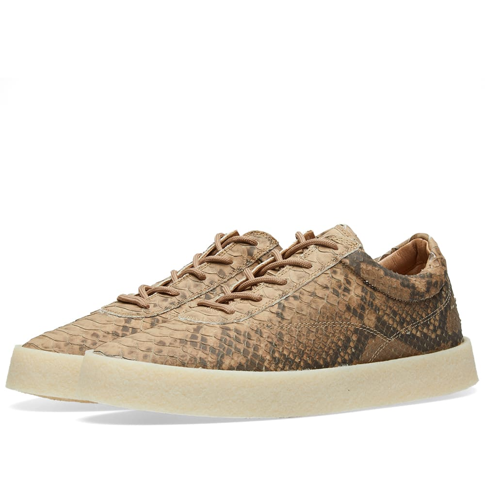 5a3b8a454 Yeezy Season 6 Crepe Sneaker Fake Python Leather