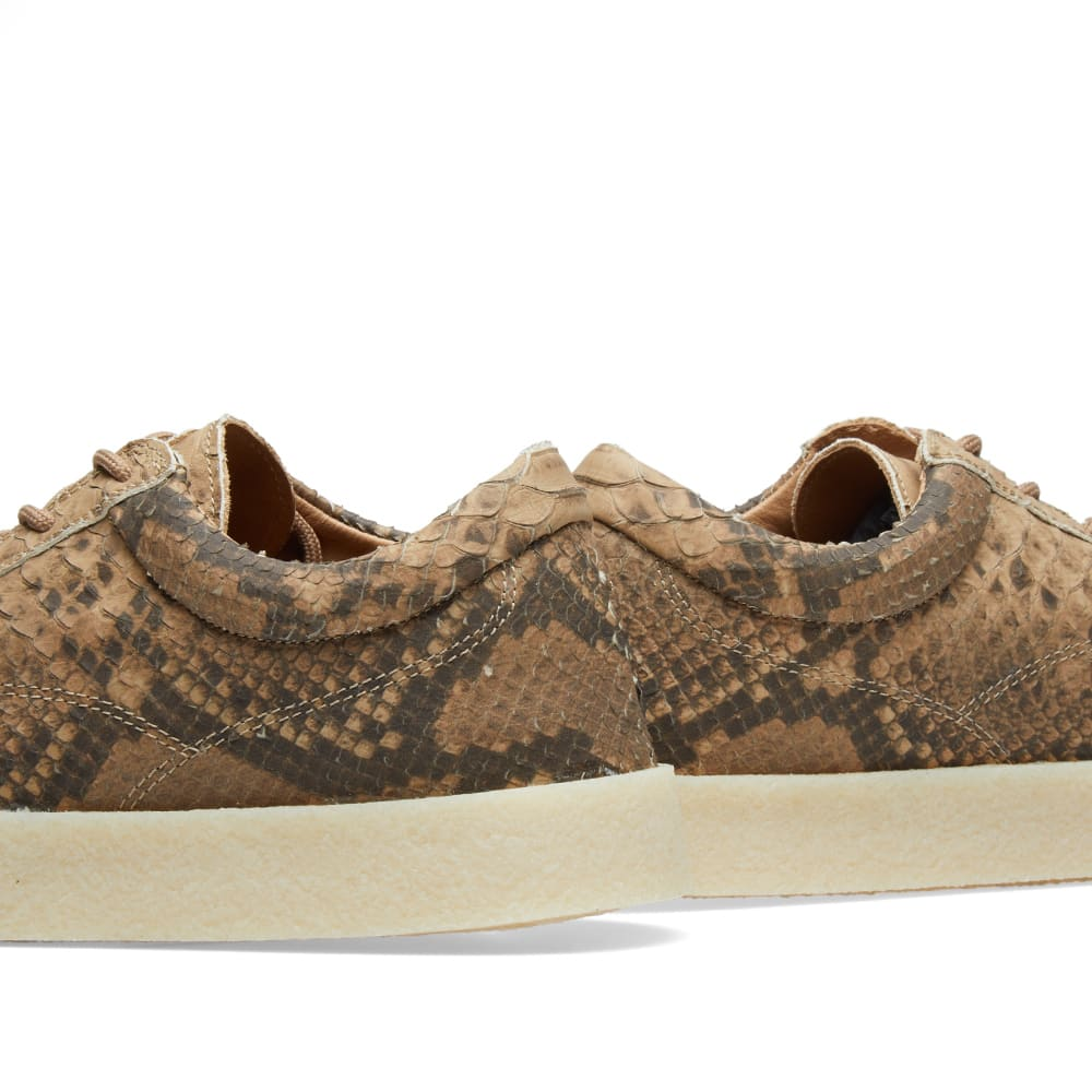 aadb51bf44c86 Yeezy Season 6 Crepe Sneaker Fake Python Leather