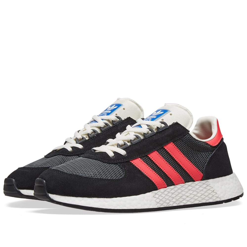 adidas marathon tech core black