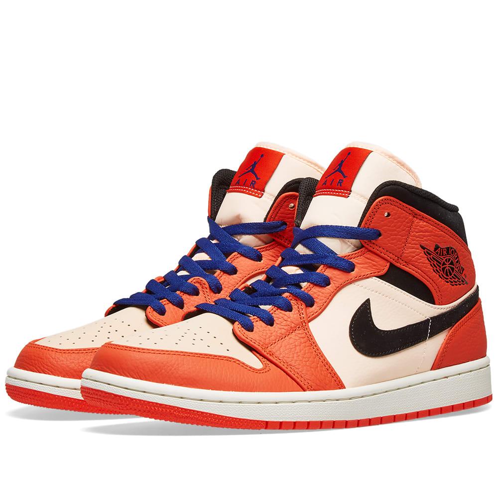e4082ade5dda Air Jordan 1 Mid SE Orange