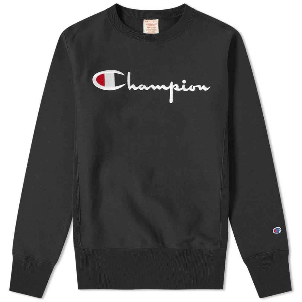 Champion Script Logo Crew Sweat