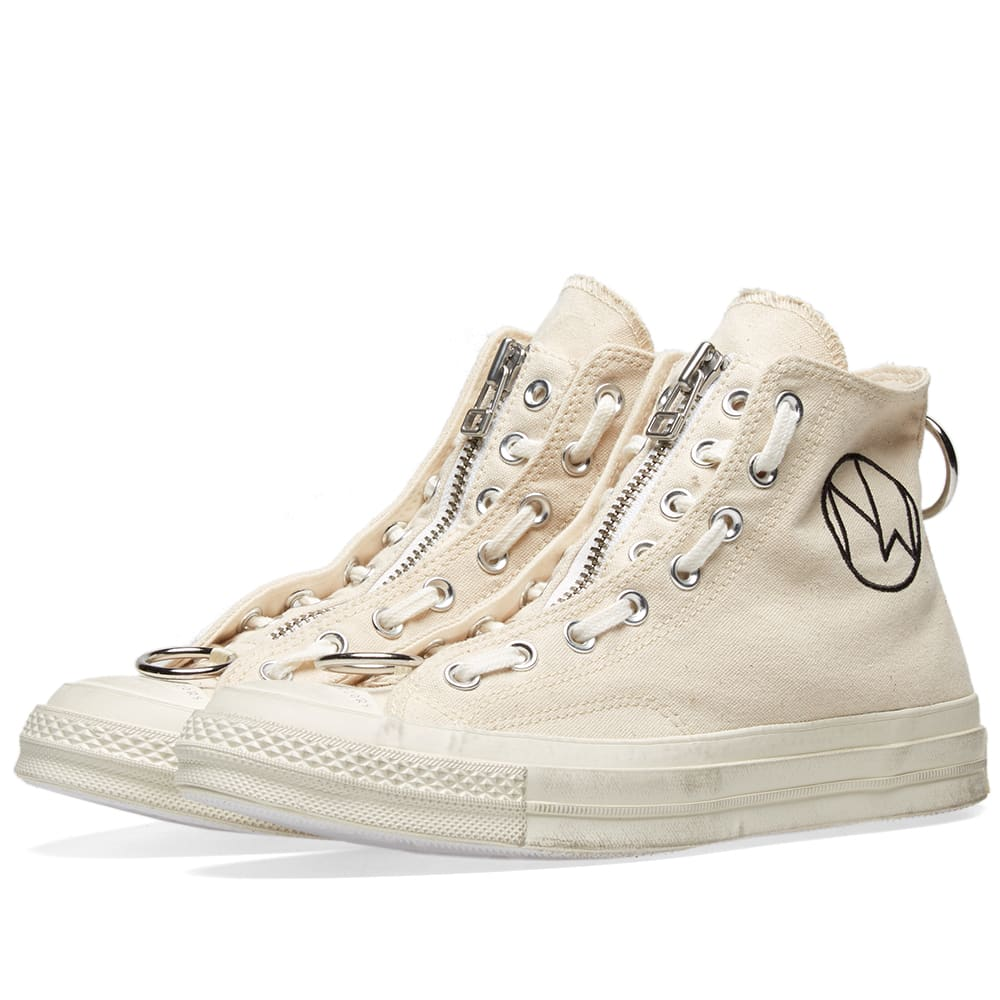 Wood Wood Converse Chuck Taylor 70 High x Undercover Black