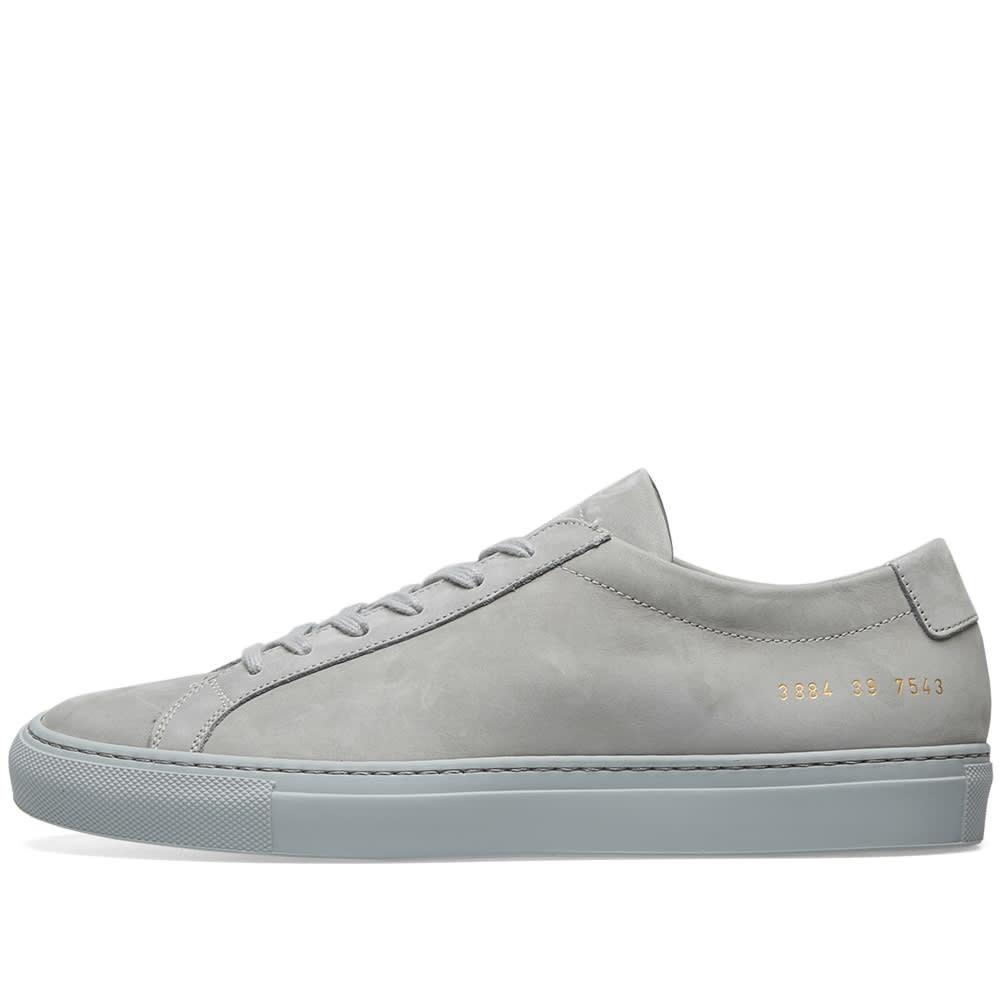 Original Achilles Low Nubuck Grey