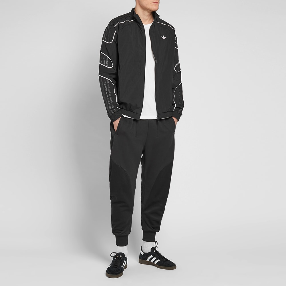 low price sale quality design huge selection of Adidas Flamestrike Woven Track Top In Black