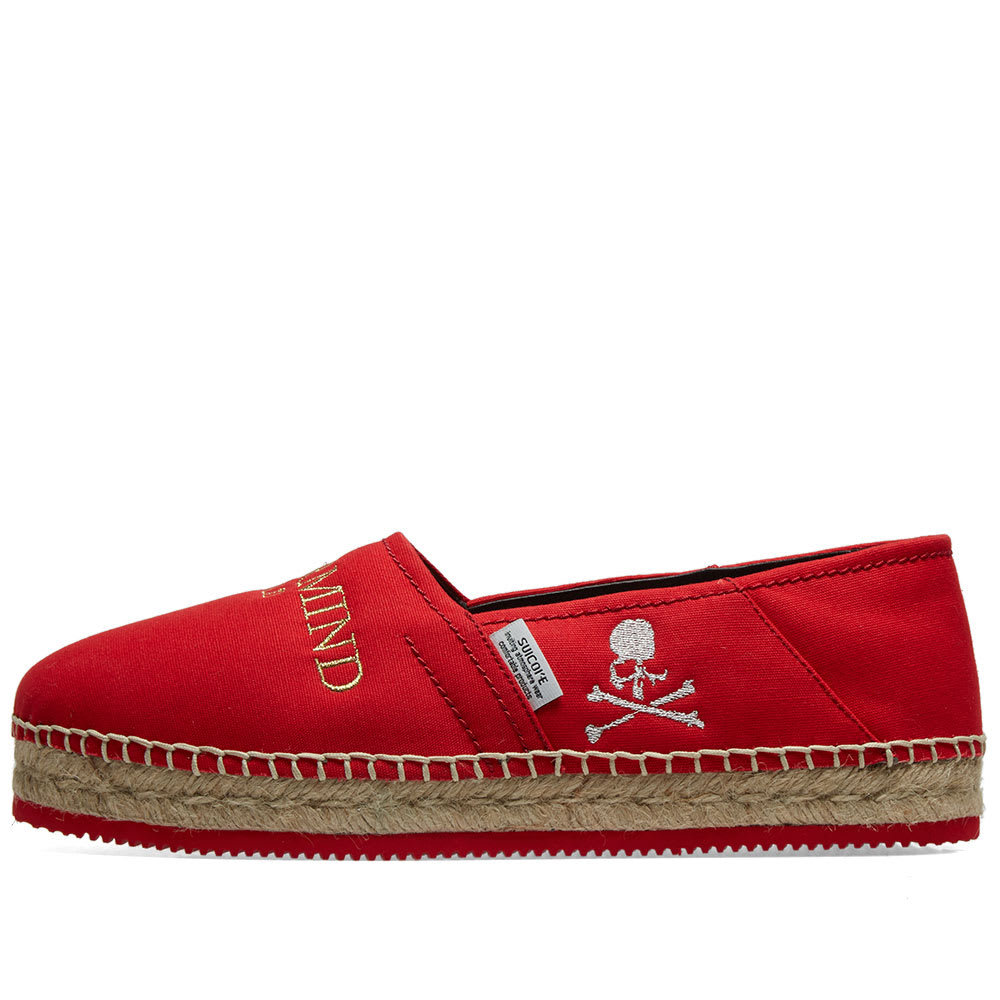 80277095f4 MASTERMIND WORLD x Suicoke Espadrille Red | END.