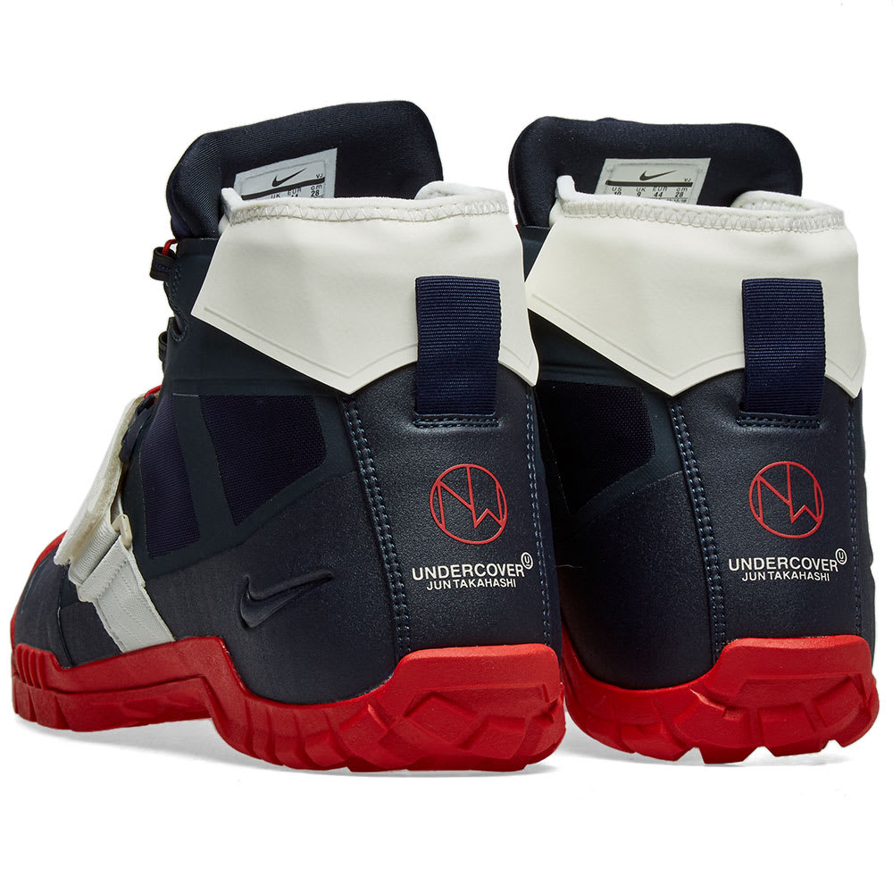 size 40 3d327 7967b Nike x Undercover SFB Mountain Obsidian   University Red   END.