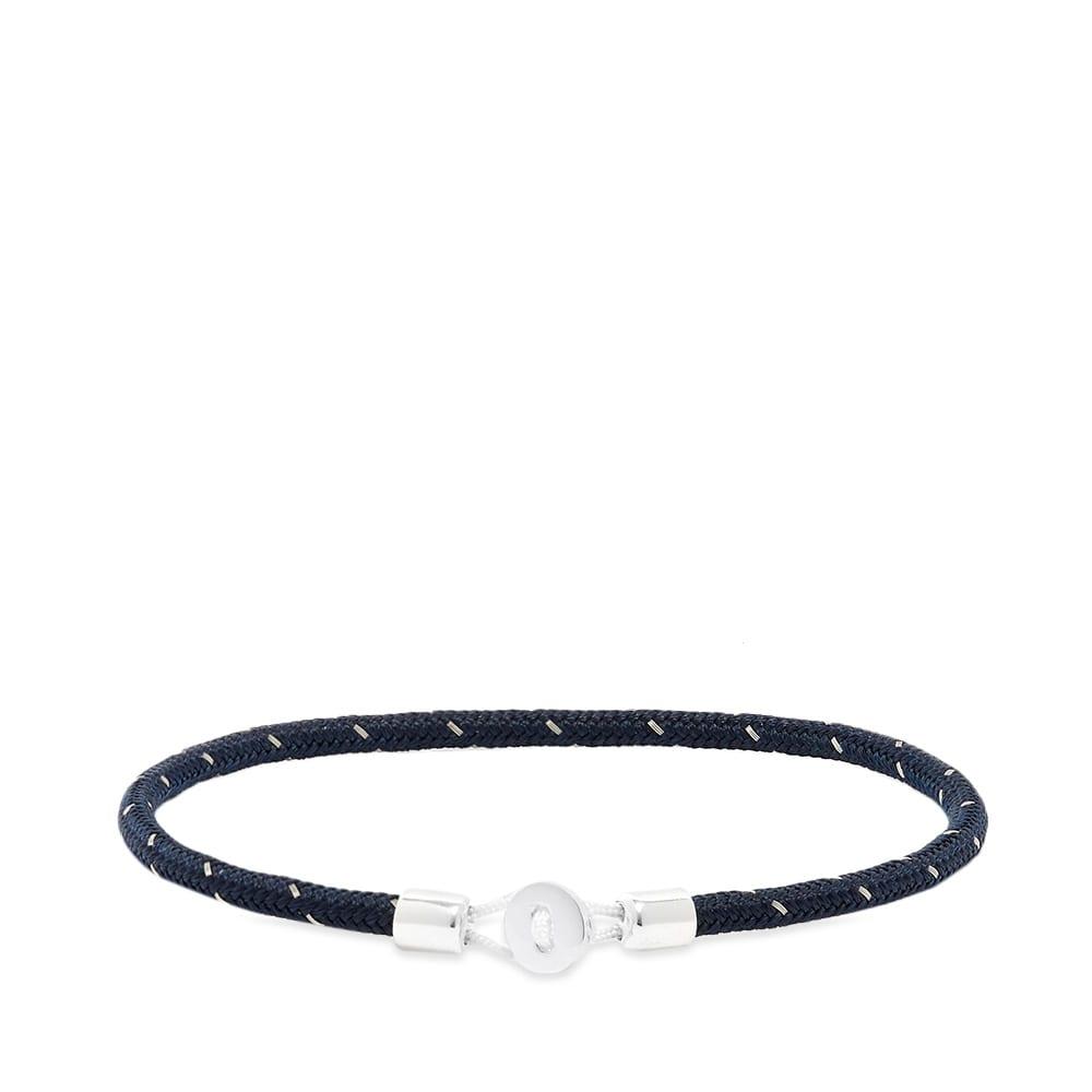 Miansai Nexus Rope Bracelet In Blue