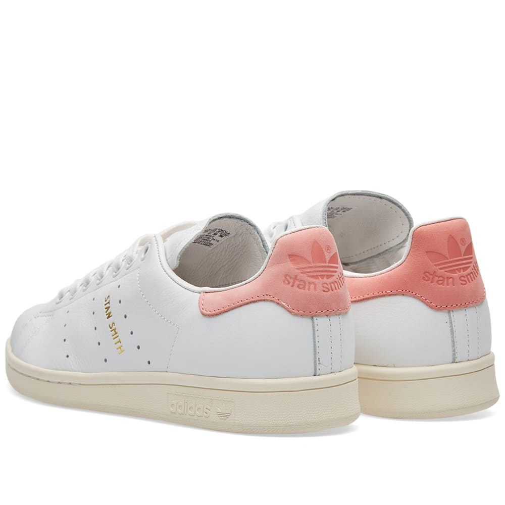 Adidas stan smith vintage white ray pink for Adidas nuove stan smith