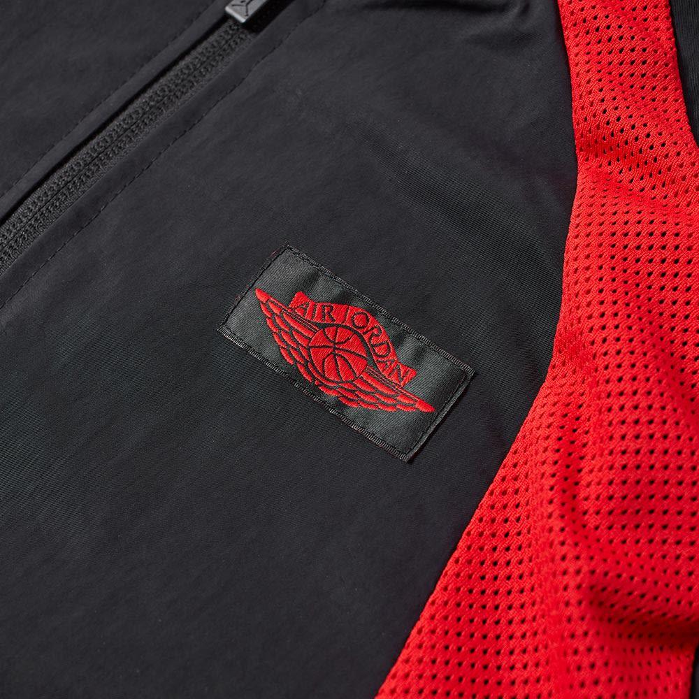 289407daae460b Nike Air Jordan 1 Wings Jacket Black   University Red