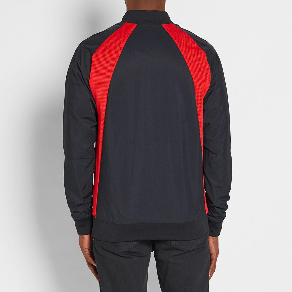80d3043ac66667 Nike Air Jordan 1 Wings Jacket Black   University Red
