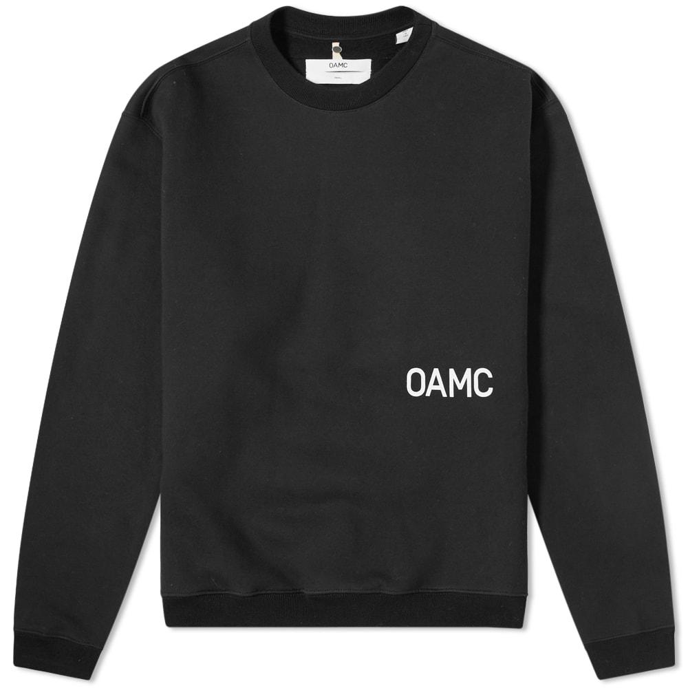 OAMC Noise Logo Crew Sweat