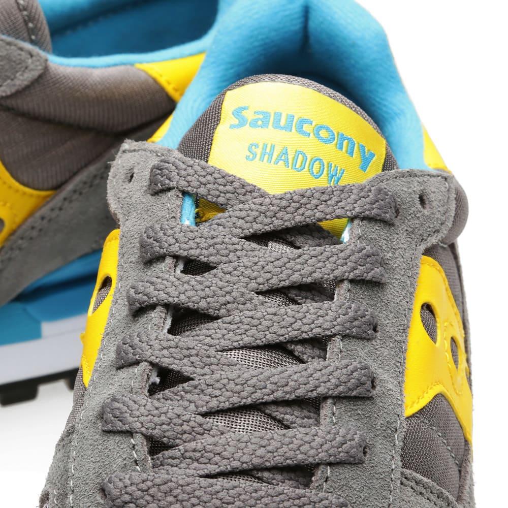 saucony shadow original grey yellow