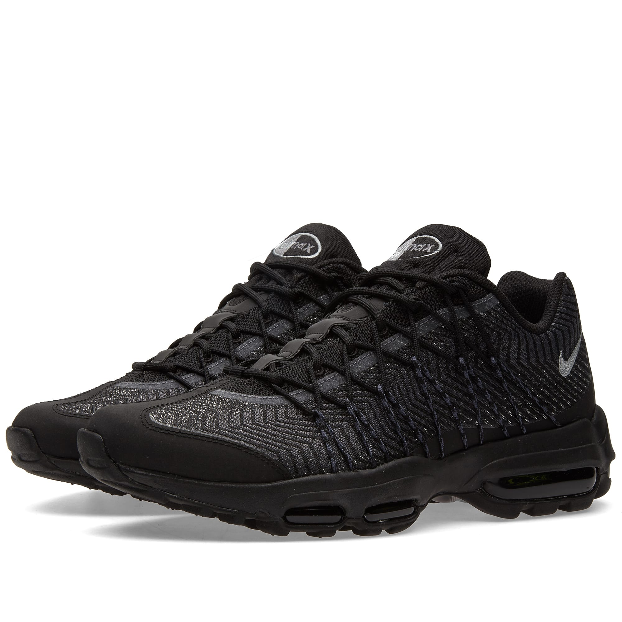 pretty nice 1fe42 acf0d Nike Air Max 95 Ultra JCRD Black, Silver   Dark Grey   END.