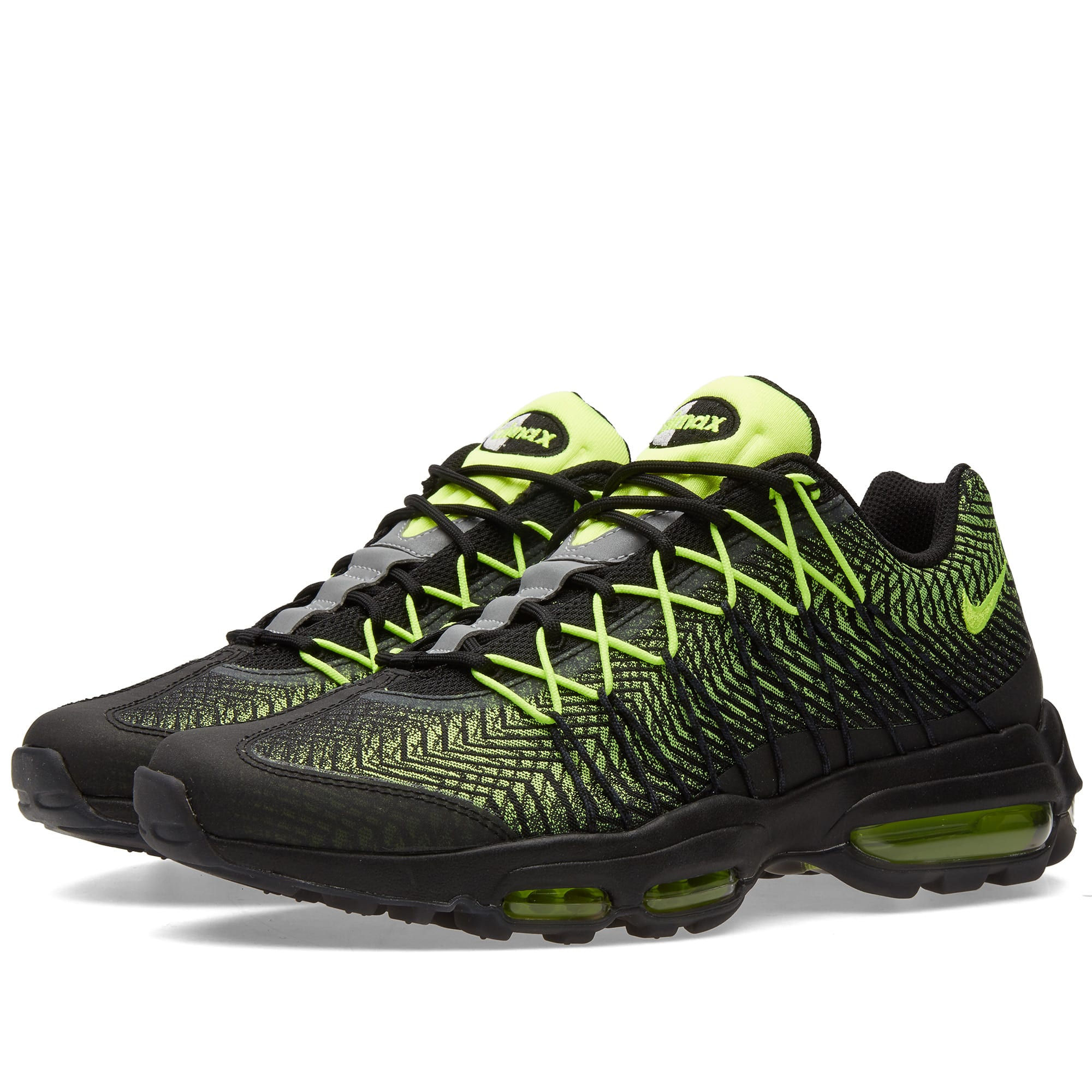 new arrival 6e63f 28a70 Nike Air Max 95 Ultra JCRD Black, Volt   Dark Grey   END.