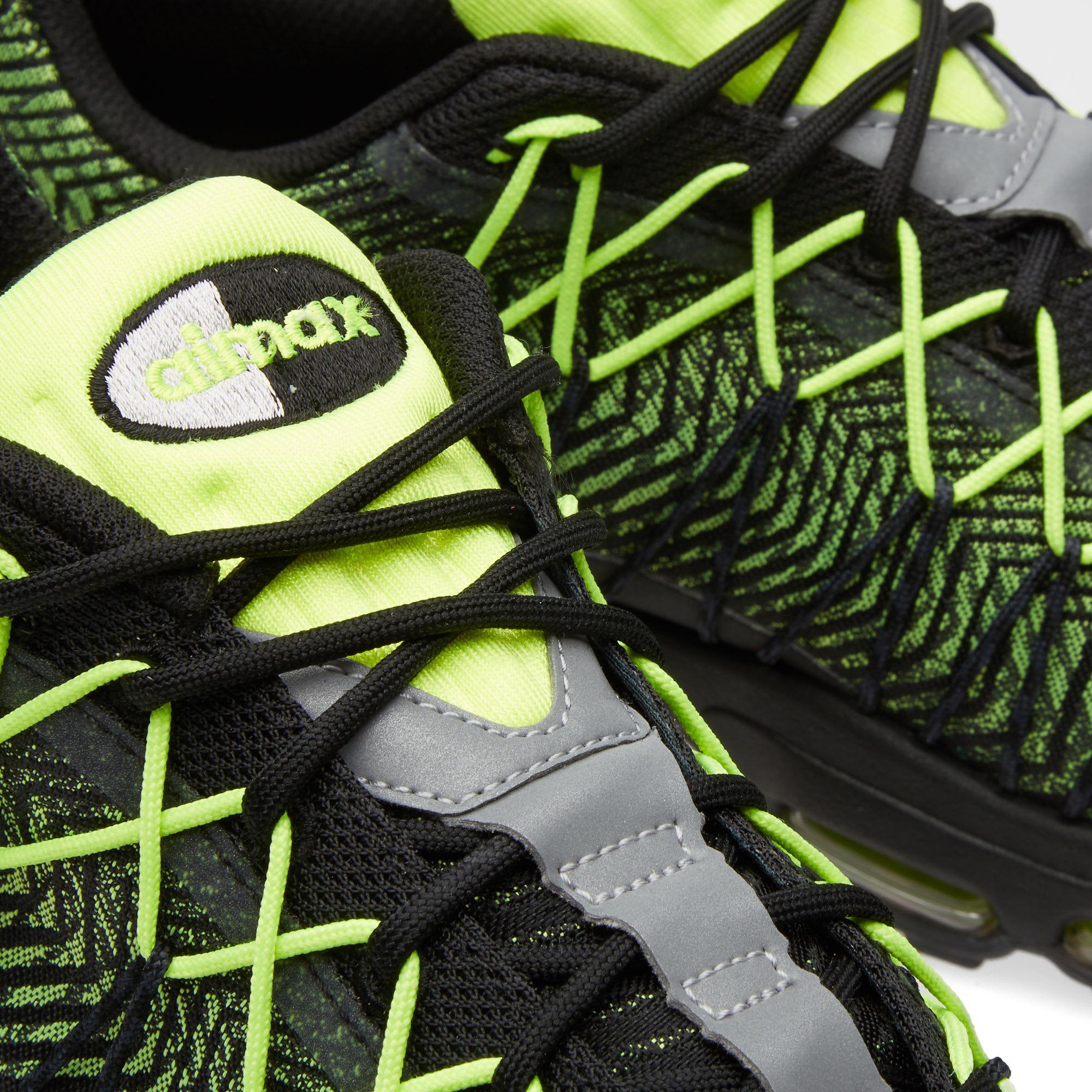 new arrival 4a9b8 5a48e Nike Air Max 95 Ultra JCRD Black, Volt   Dark Grey   END.