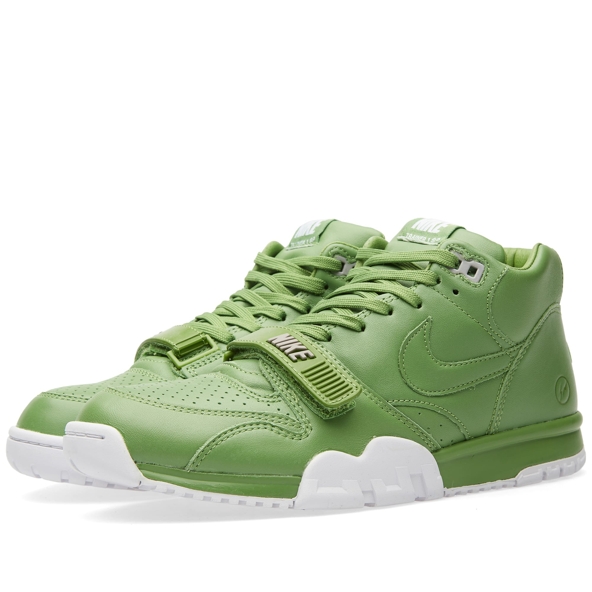 size 40 43437 a7bce Nike x Fragment Design Air Trainer 1 Mid SP Chlorophyll & White | END.