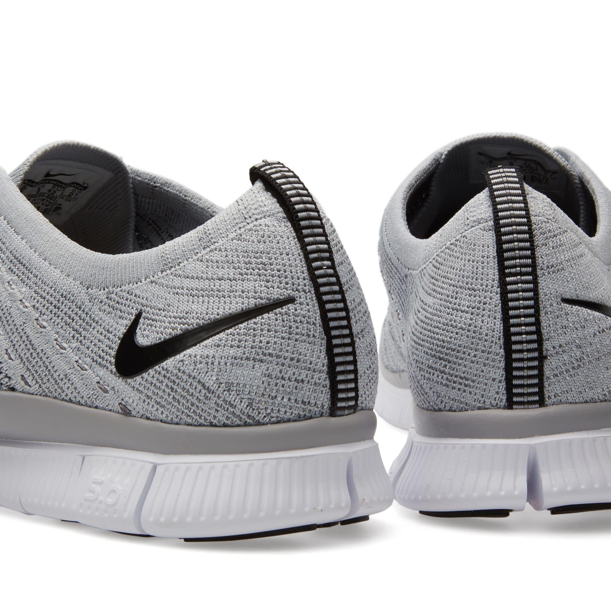 6c9084d3e4a5 Nike Free Flyknit Wolf Grey