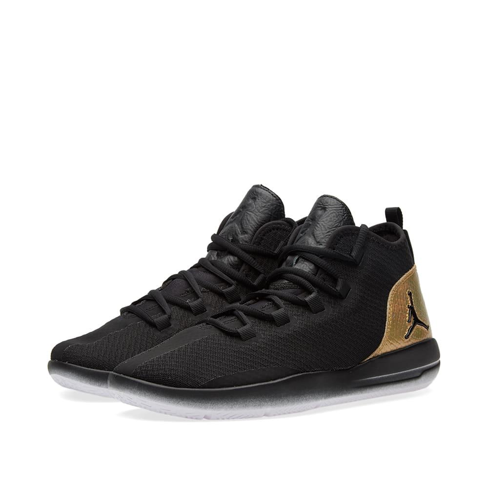 reputable site a6dc1 30be4 Nike Jordan Reveal Q54 BG Black, White   Metallic Gold   END.