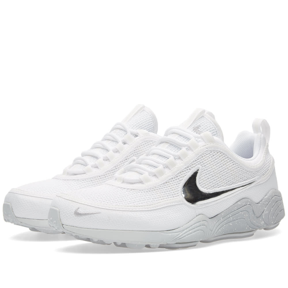 finest selection 92534 73bf3 Nike Air Zoom Spiridon QS White   Wolf Grey   END.