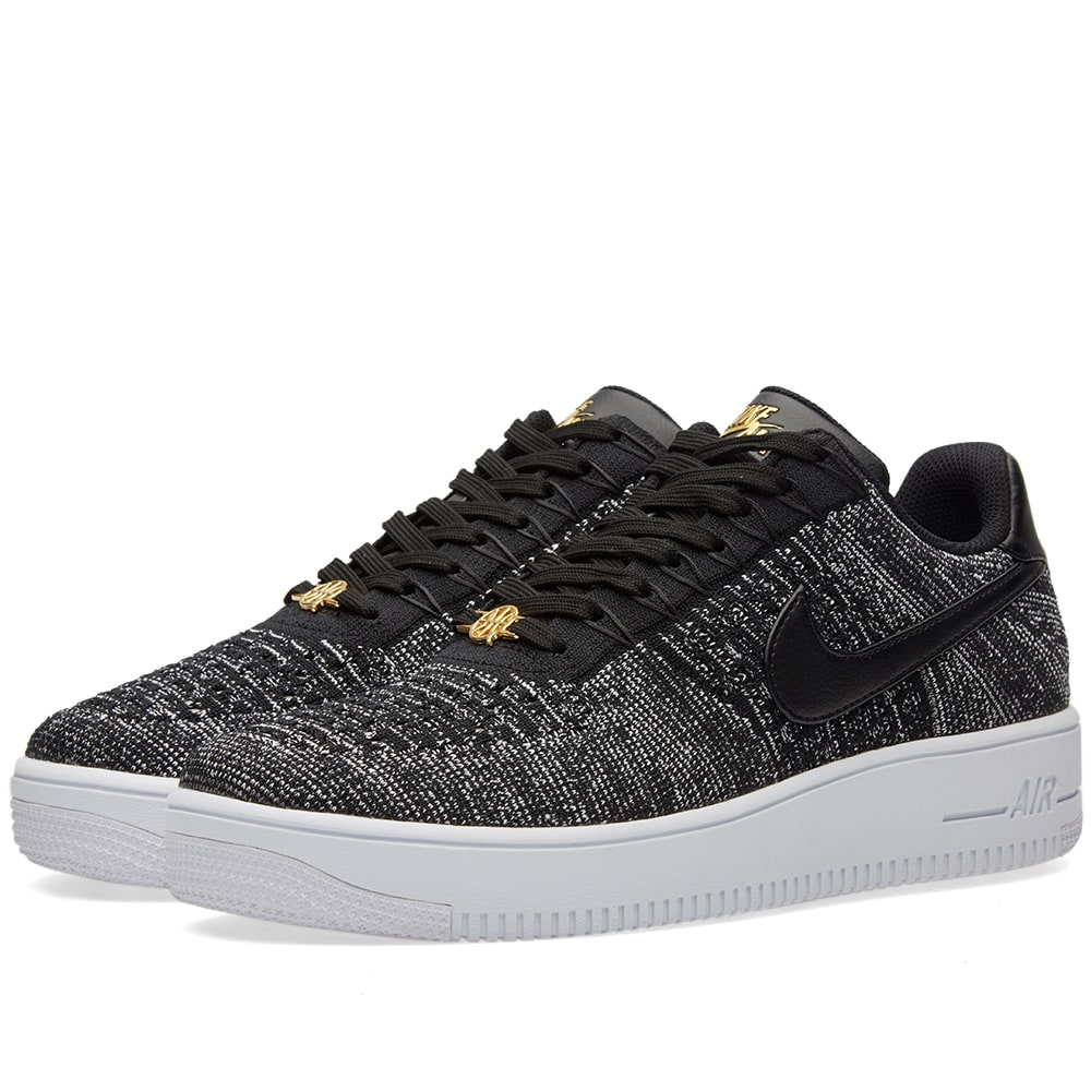competitive price 51c70 3977e Nike Air Force 1 Ultra Flyknit Low QS Black   White   END.