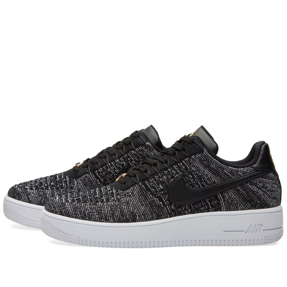 competitive price 1a0e7 99272 Nike Air Force 1 Ultra Flyknit Low QS Black   White   END.