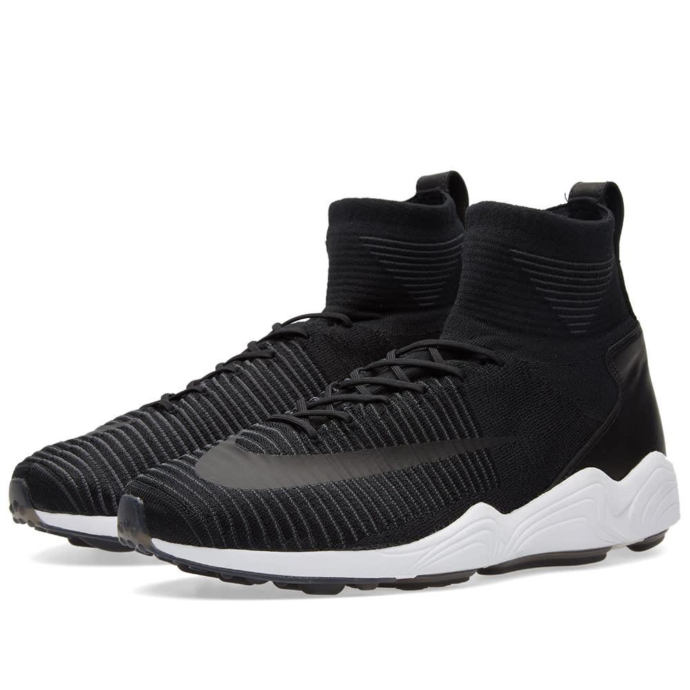 6d3702f3092ce Nike Zoom Mercurial Flyknit Black