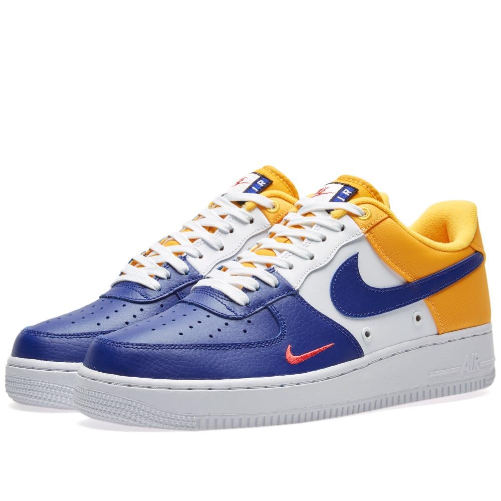 Air Force 1 High WhiteDeep Royal BlueWhite   Womens Nike