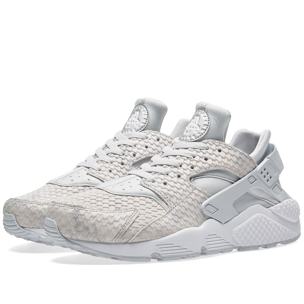 new product 3c1c5 0718b Nike Air Huarache Run Premium W Pure Platinum   White   END.