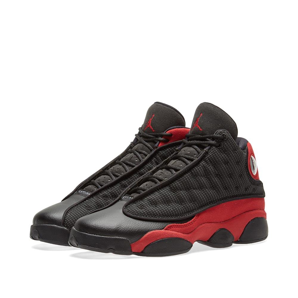 finest selection d19b0 65825 Nike Air Jordan 13 Retro GS Black   Red   END.