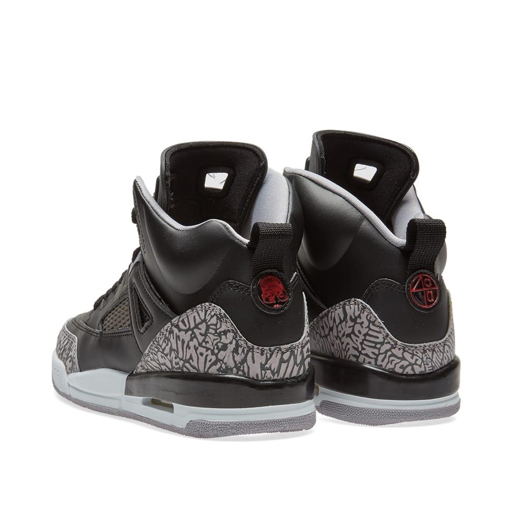 huge selection of 83c9b c7a90 Nike Air Jordan Spizike GS Black, Varsity Red   Grey   END.