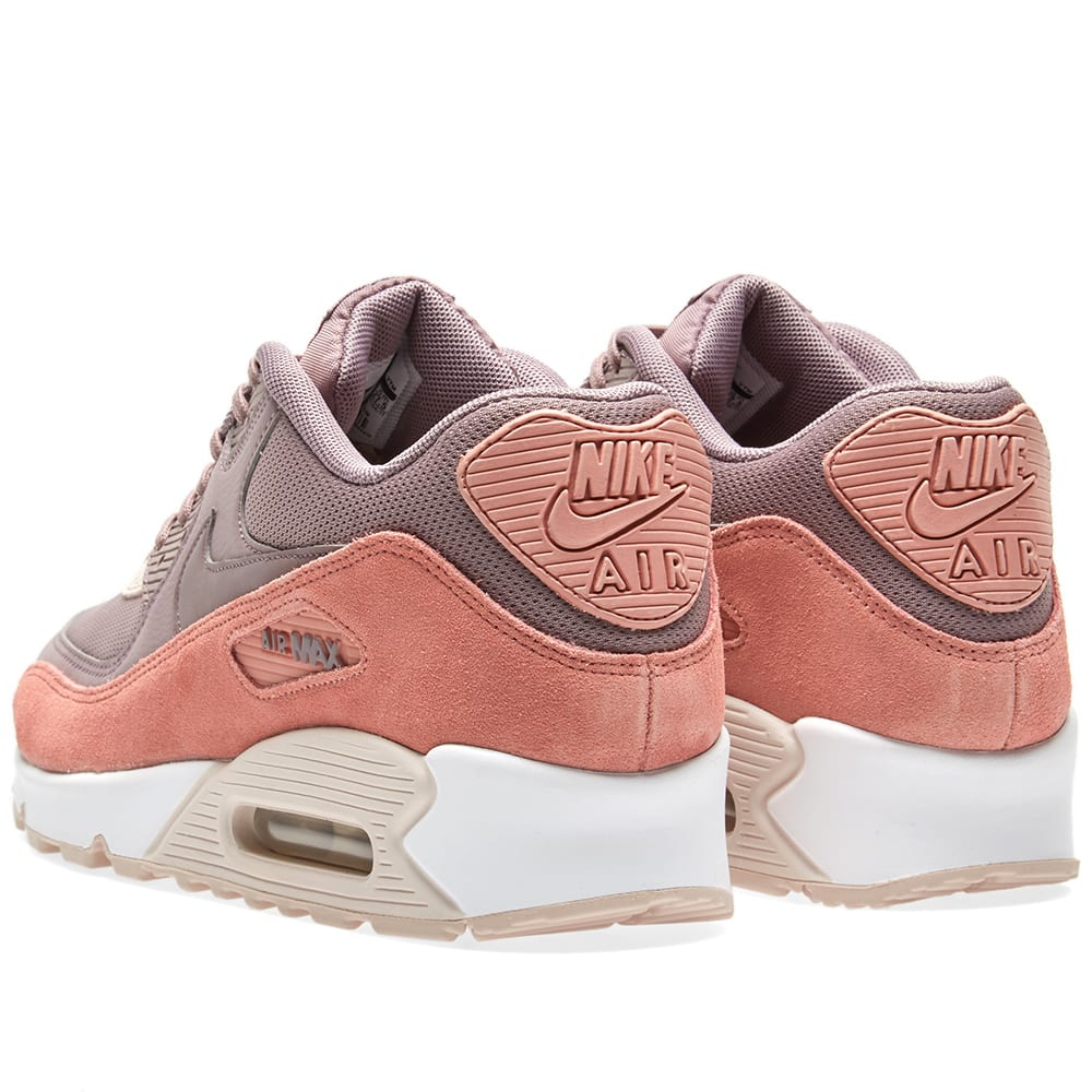 best loved a5b61 2237f Nike Air Max 90 W Red Stardust, Grey   White   END.