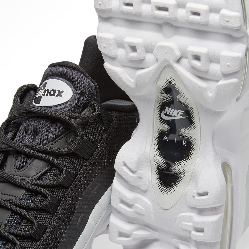 Nike Air Max 95 Ultra Essential Black, White & Pure Platinum | END.