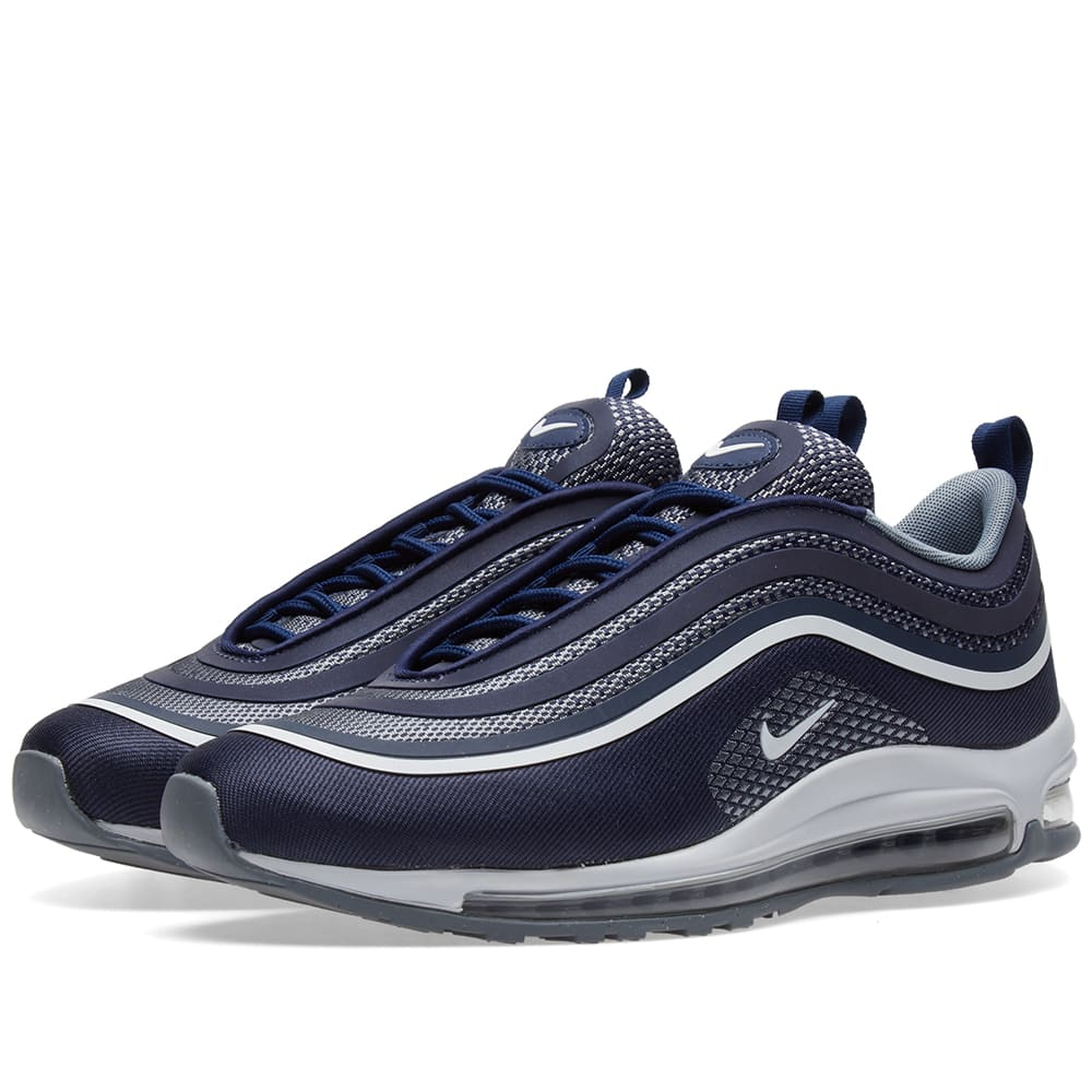 1830aa5fc0 Nike Air Max 97 Ultra '17 Midnight Navy, White & Grey | END.