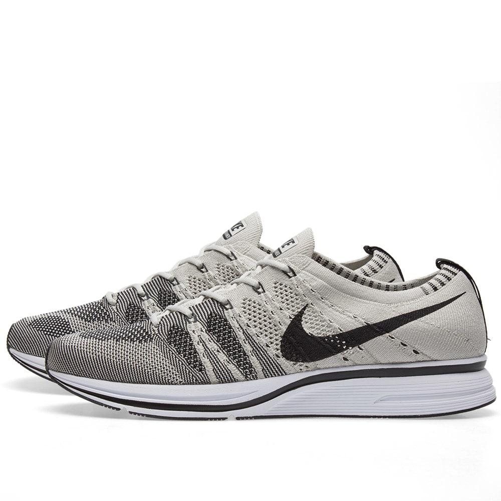 0c7caca81fba4 Nike Flyknit Trainer Pale Grey   Black