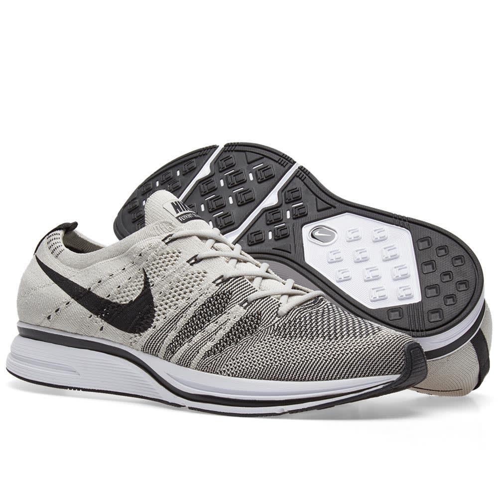 7fdbc10af549 Nike Flyknit Trainer Pale Grey   Black