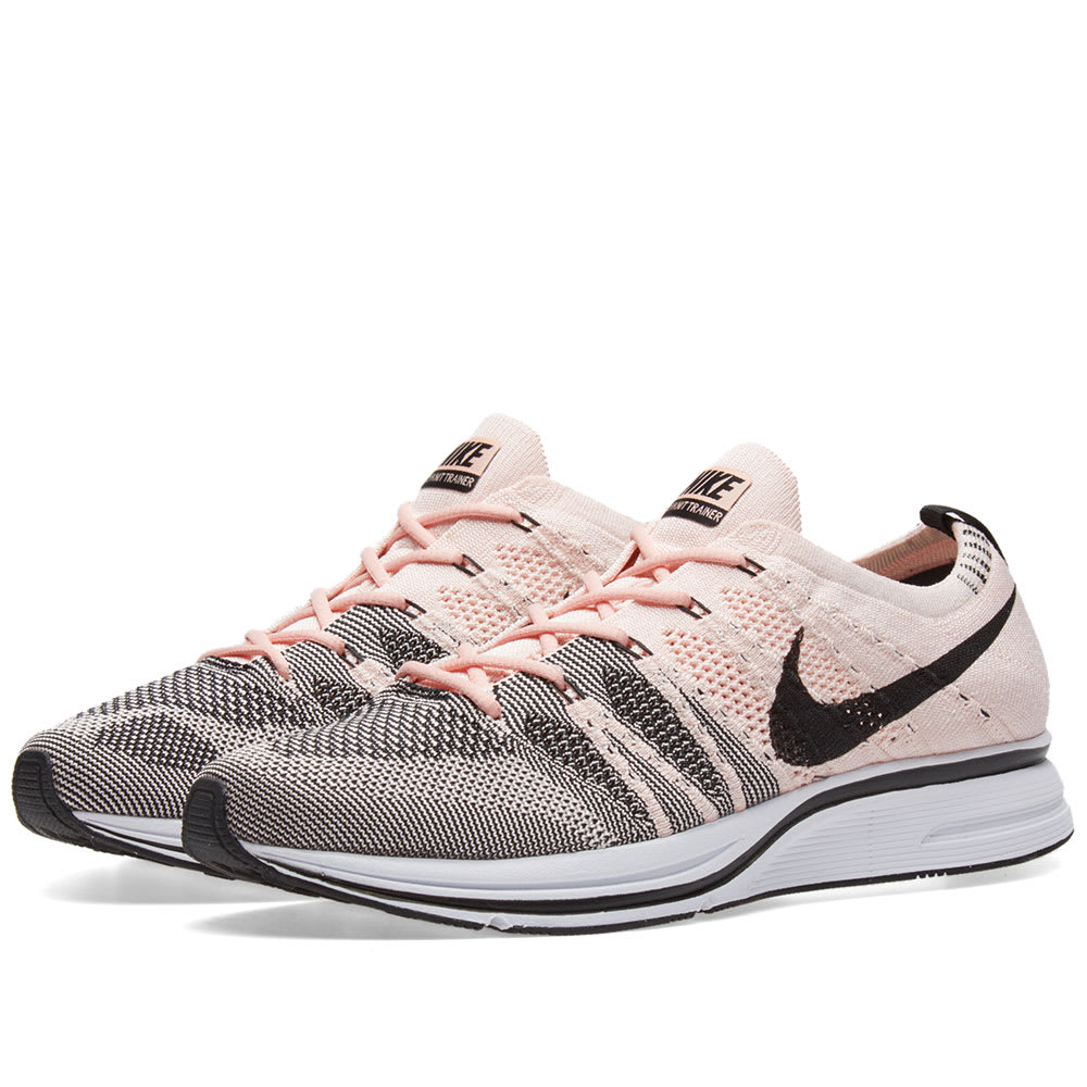 50fd57383752b Nike Flyknit Trainer Sunset Tint   Black