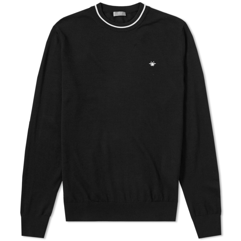 DIOR HOMME TAPING CREW NECK KNIT