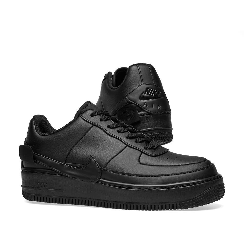Nike Air Force 1 Jester XX Women's Shoes Size 10 Triple Black Ao1220 001