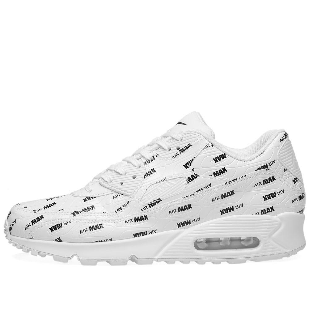 reputable site ba5c9 14c61 Nike Air Max 90 Premium White   Black   END.