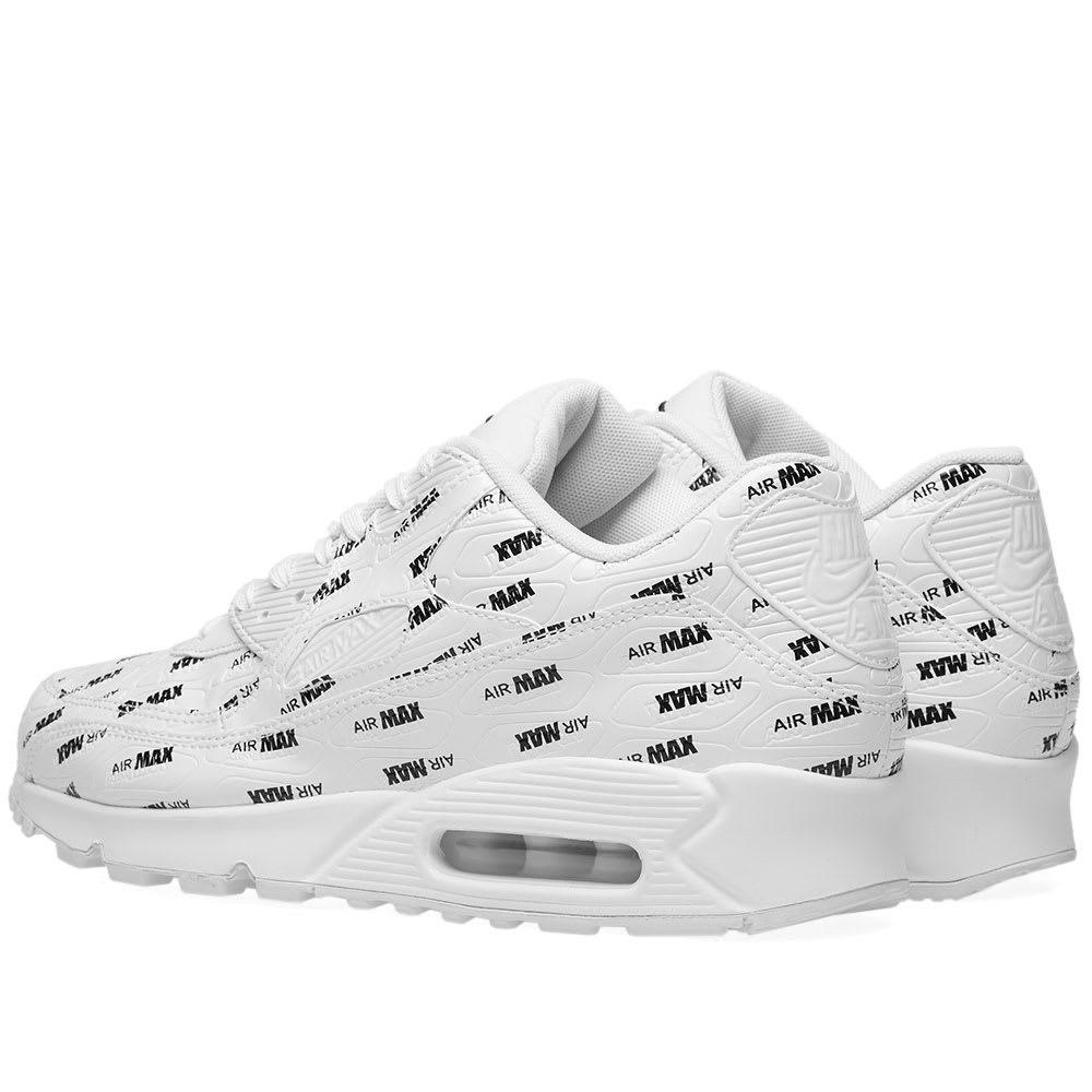 reputable site 4ced1 db3bb Nike Air Max 90 Premium White   Black   END.