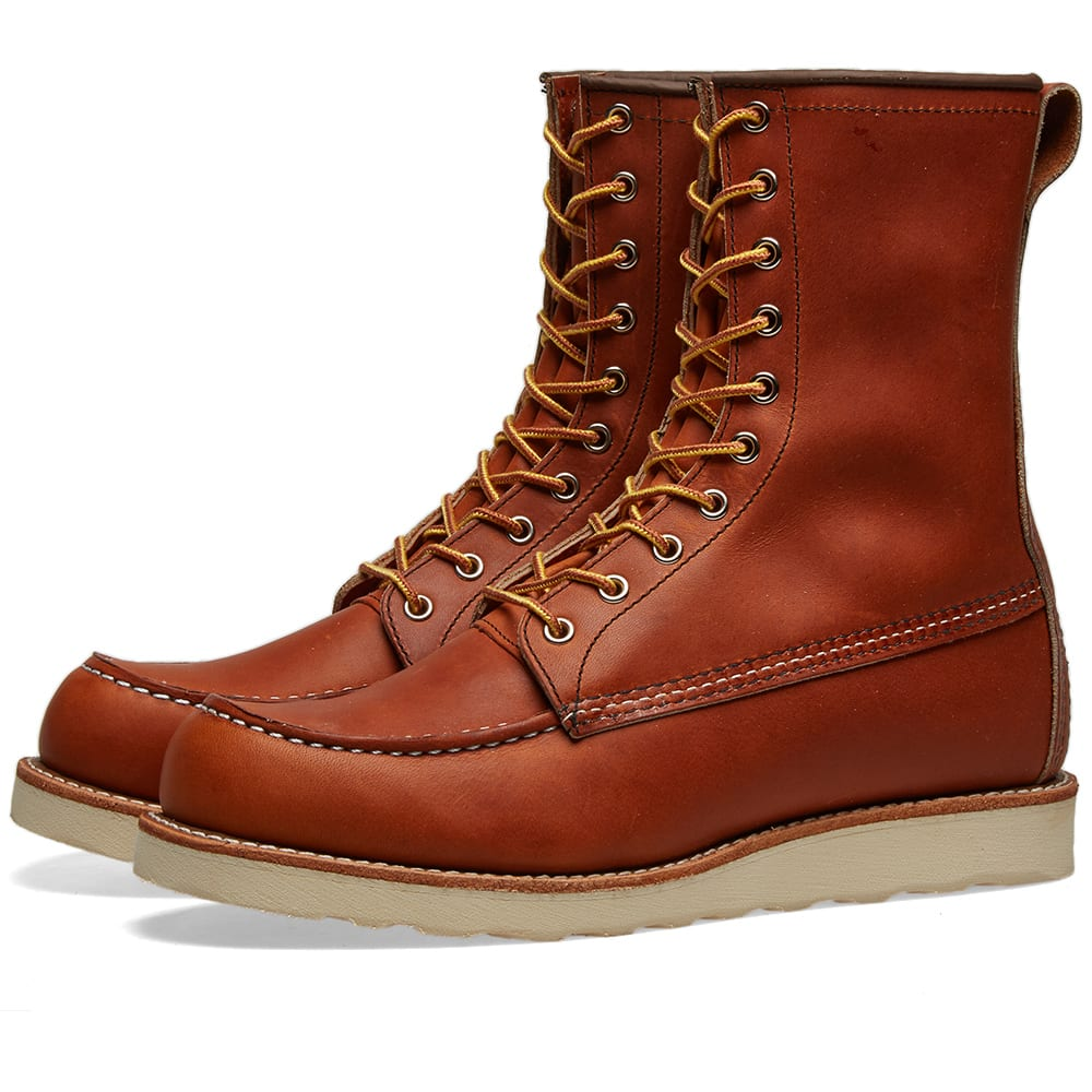 a4e4431e316 Red Wing 877 Heritage Work 8 Moc Toe Boot