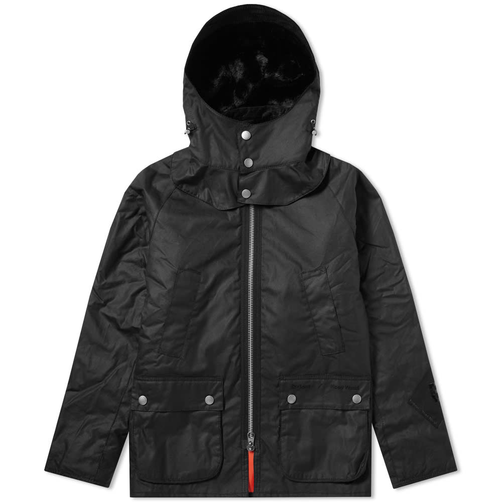 Barbour x Wood Wood Souter Wax Jacket