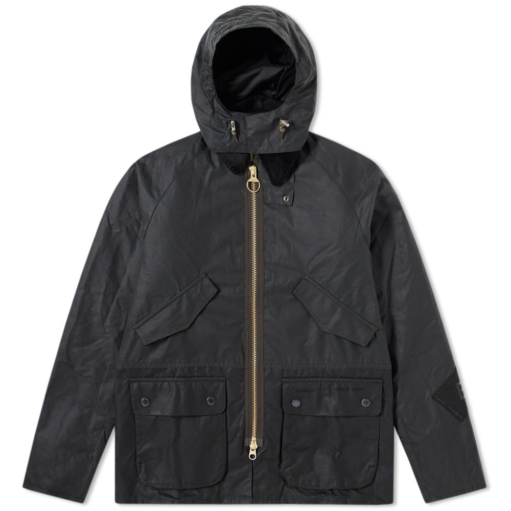 Barbour x Wood Wood Valby Wax Jacket